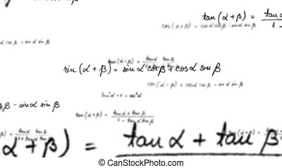 Maths trigonometry equation loop