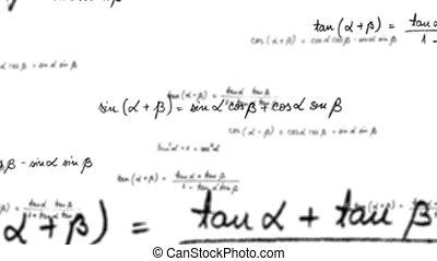 Maths trigonometry equation loop