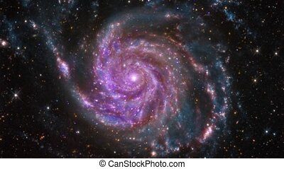 4K NASA Cinemagraph Collection - M101 Spiral Galaxy....