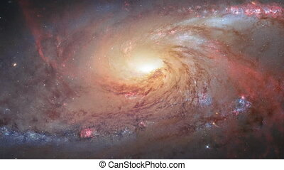 4K NASA Cinemagraph Collection - Messier 106 Galaxy....