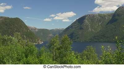 4K, Norway, Boat Trip along the coa - Nature Of Norway,...
