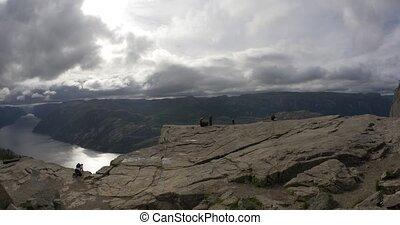 4K, Norway, The EPIC Preikestolen - Nature Of Norway,...