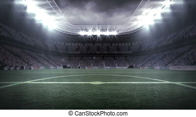 4k, palczasto, piłka nożna, rodzony, video, stadion