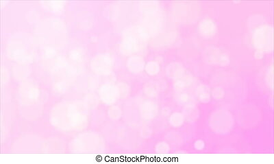4K Pink Abstract background with bokeh lighting element