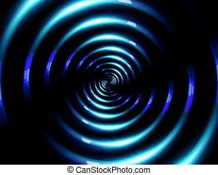 4K ring lens flare