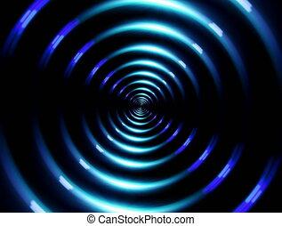 4K ring lens flare fast