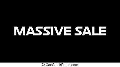4k, sprzedaż, masywny, eighties, retro, reklama, pojęcie