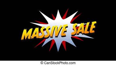 4k, sprzedaż, wybuch, masywny, tekst, rysunek, styl
