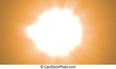 4K Symmetrical explosion Sun flash lights optical lens flares transition shiny Loop Sun animation background. Classic Light Leak. Titles, Transitions, Intro, Logo Reveals, Effect. Style, Scene.