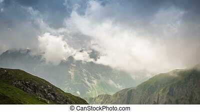 4K, Time Lapse, Col Agnel, Italy