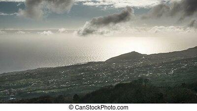 4k Time Lapse, La Palma, Brena Alta