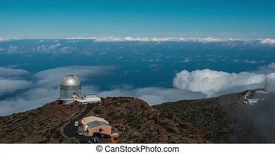 4k Time Lapse, La Palma,Observatory - 4k Time Lapse, La...