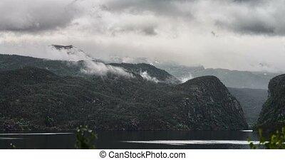 4K, Time Lapse of Eidfjord landscap