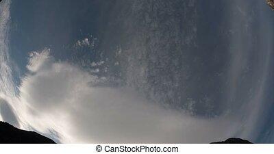4K, Time Lapse of Haugsvik clouds, - 4K Timelapse of ...