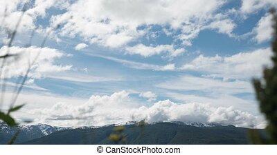 4K, Time Lapse of Ornevegen landsca