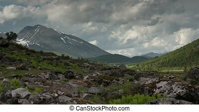 4K, Time Lapse of Valldal landscape - 4K Timelapse of ...