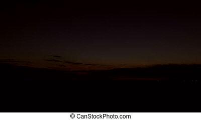 4k Time-lapse Sunrise on Arctic Alaska Winter