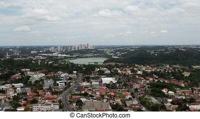 4K Timelapse Curitiba aerial view