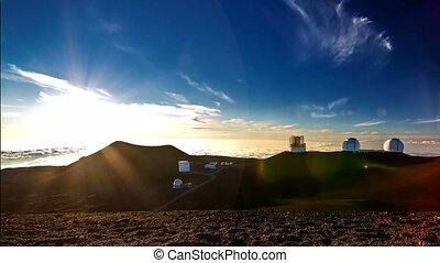 4K Timelapse, Mauna Kea Observatory, Big Island, Hawaii