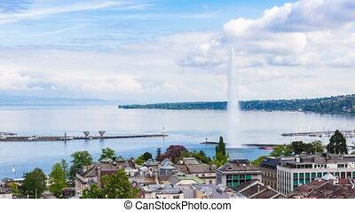4K Timelapse of Geneva