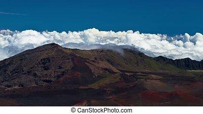 4K Timelapse of Haleakala Volcano