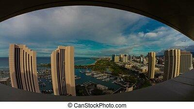 4K Timelapse of Honolulu, Hawaii