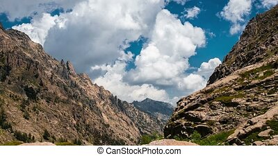 4K, Timelapse, Restonica Valley, Corsica