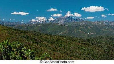4K, Timelapse, Urtaca Region, Corsica