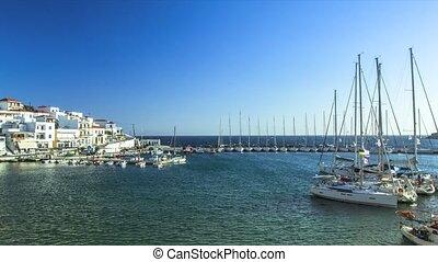 Views of the Yacht Marina