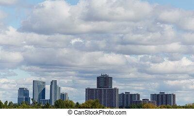 4k Toronto City Skyline Timelapse