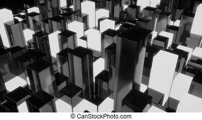 4K Unique Cubic Design.