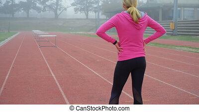 4k, wyścigi, reputacja, atleta, samica, ślad