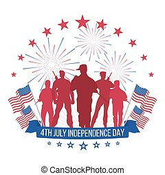 4th July. Independence Day