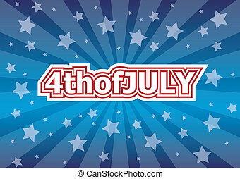 4th of july. - 4th of july American independence day badge....
