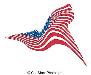 4th of July America Flag