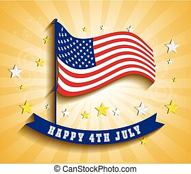 4th of july American independence