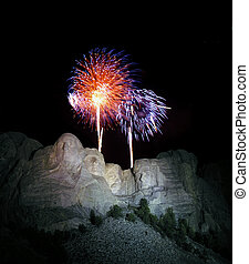 4th of July at Mt Rushmore. - Yearly 4th of July fire works ...