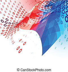 4th of july american independence day abstract background