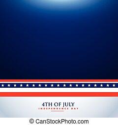 4th of july background illustration