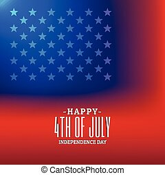 4th of july background with american flag