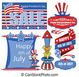 4th of july banner and Designs - 4th of july banner and...