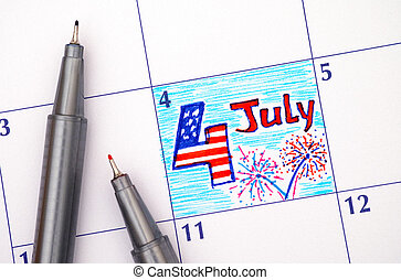 4th of July, Independence day,