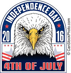 4th of July-Independence Day is an illustration of a fourth...