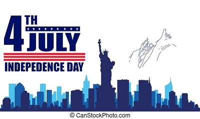 4th of July. Independence Day