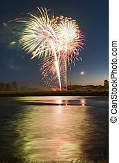 4th of July on the river