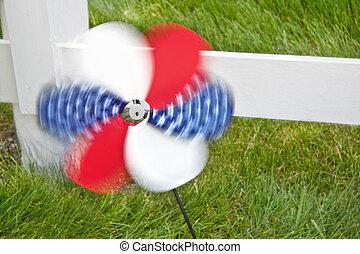 4th of July Pinwheel