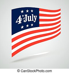 4th of July US Flag