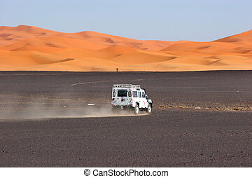 4wd, モロッコ, sahara