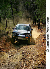 4WD adventure driving in the australian outback