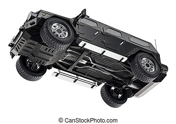 4x4, auto, ophanging